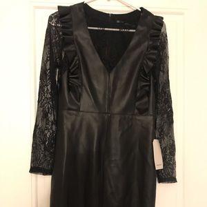 Zara Combined tube dress
